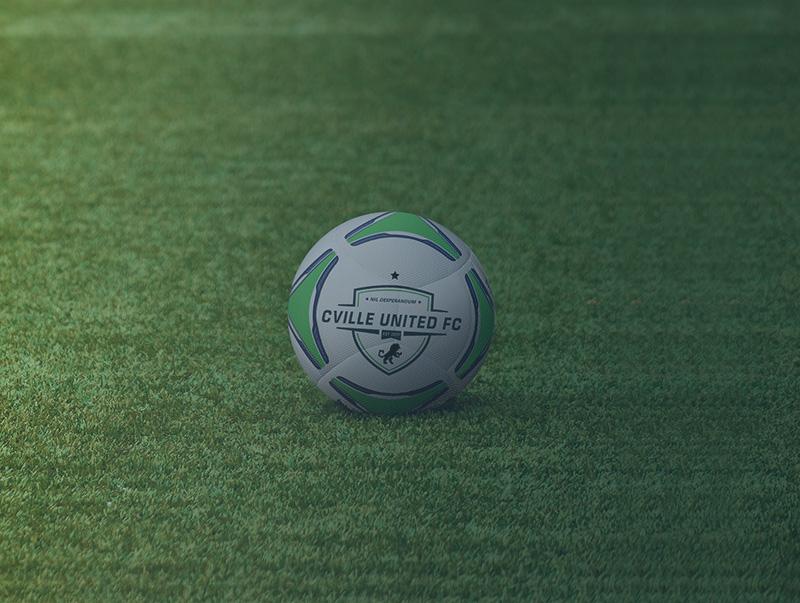 CVILLE UNITED   Youth Soccer Club   Charlottesville, Virginia   Boys U12 Team   Ball Image